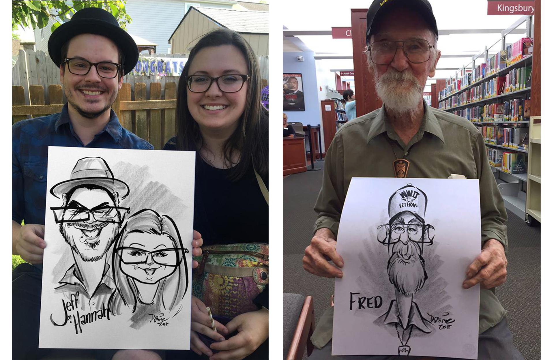 Kurt Dreier Traditional Caricatures