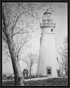 Kurt Dreier lighthouse gray